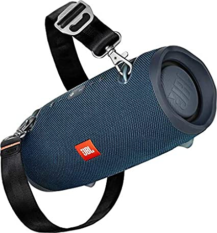 JBL Xtreme 2 Bluetooth Speaker with Rechargeable Battery, Waterproof, Carry Strap Included, Blue