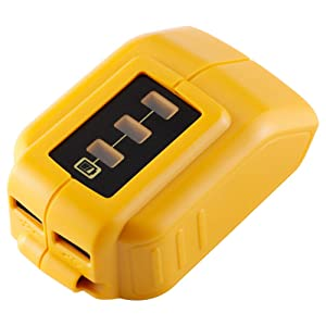 Jialimeiguo USB Power Source Replace Dewalt DCB090 and Suit for Dewalt 12v/ 20V MAX Lithium-ion Battery
