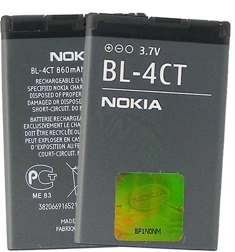NOKIA OEM BL-4CT BATTERY 2720 fold 5310 5630 7210 Supernova 7230