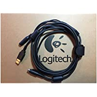 Original Logitech Replacement USB / Power Cord Extension for PTZ Pro Camera (Premium Quality)