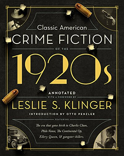 (Classic American Crime Fiction of the 1920s)