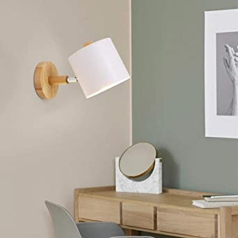 Lámpara de pared Lámpara de pared LED con interruptor de cremallera Luz de pared de iluminación interior Moderno Negro Blanco Para escalera Dormitorio Decoración del hogar: Amazon.es: Iluminación