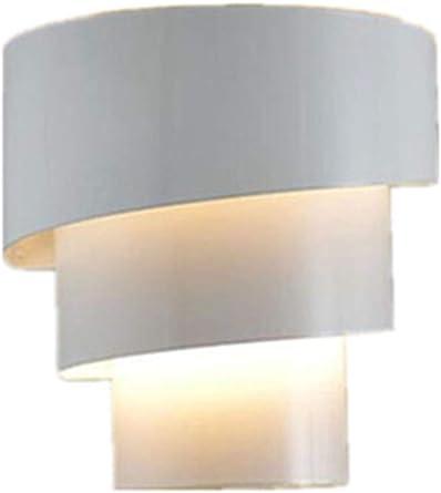 Iluminación De Pared Lámpara De Pared De La Escalera Dormitorio Simple Pasillo De La Lámpara De La Sala De Estar Del Pasillo Antorcha - Blanco: Amazon.es: Iluminación