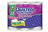 Health & Personal Care : Quilted Northern Ultra Plush Mega Roll, 9 Count
