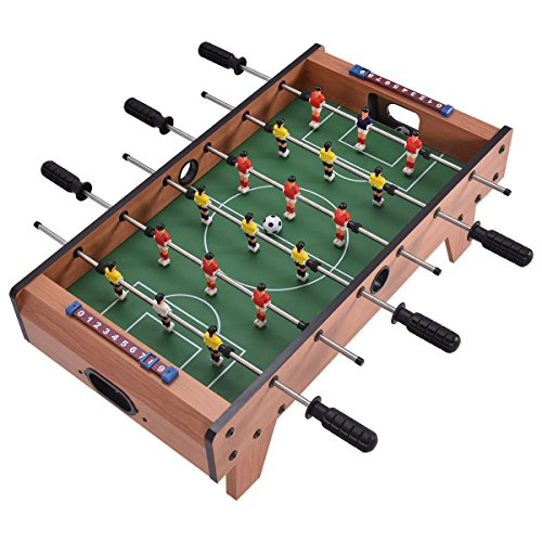 Mini Tabletop Soccer Foosball Table Game w/ Legs | Game Play Players Room Soccer Football Sports Boys Christmas Gift by Eosphorus (Image #6)