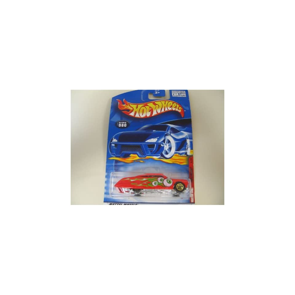 hot wheels monsters series red purple passion 80 4/4 2000