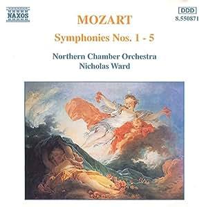 Mozart: Symphonies Nos. 1-5
