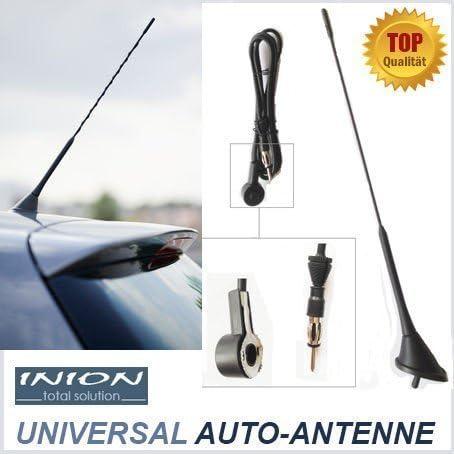 Universal 40cm Antena de coche para * PEUGEOT * -1007 - 106 - 107 - 2008 - 206 - 207 - 208 - 3008 - 306 - 307 - 406 - 407 - 4007 - 4008 - 607 - 806 - ...