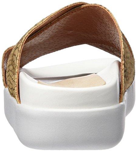 Sixtyseven 78017 - Zapatos de vestir para mujer Natural/Blanco