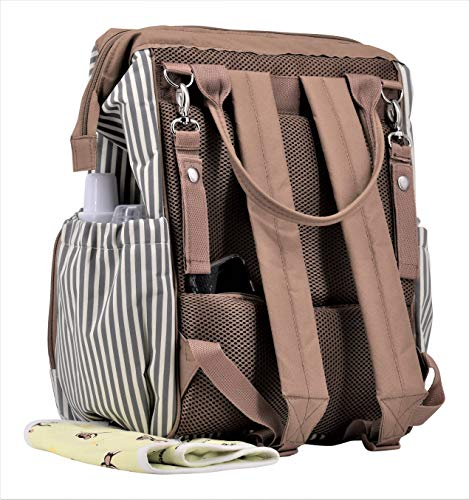 Nappy Bags Rascal Gear Striped Baby Diaper Bag Backpack