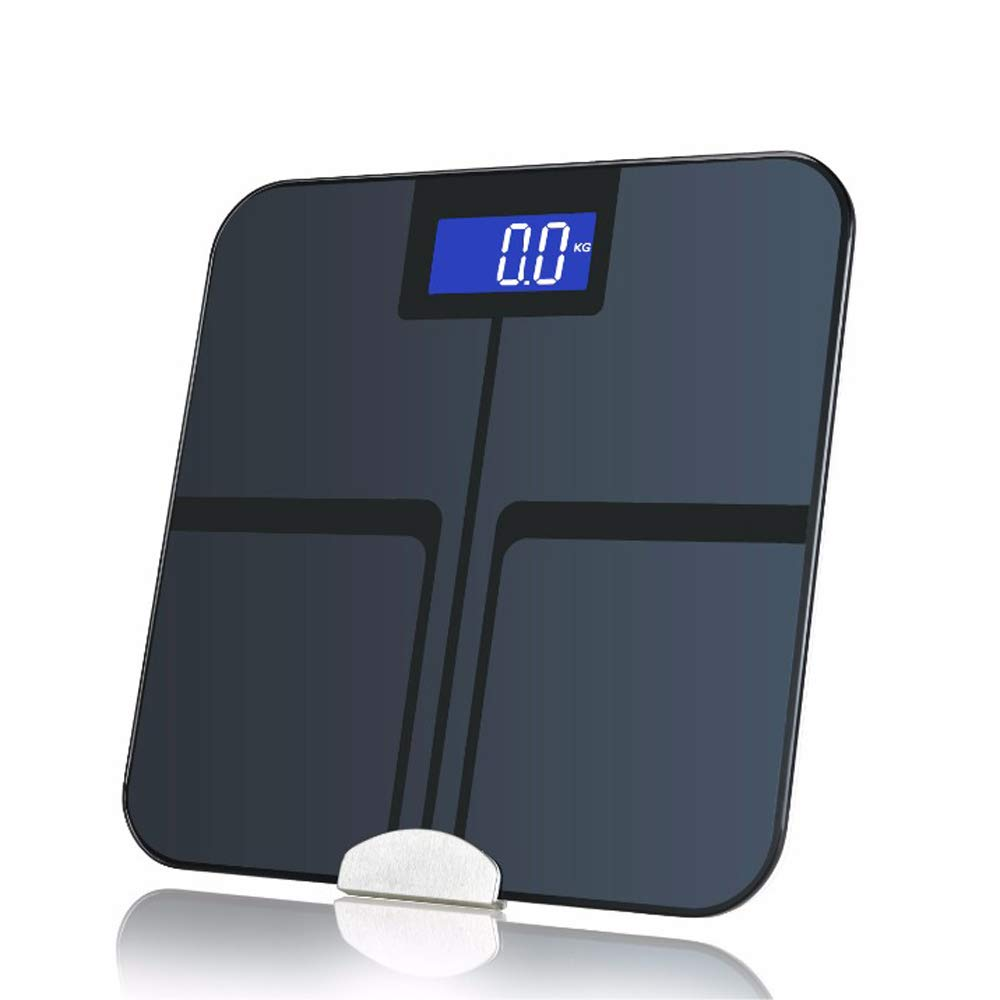 Bluetooth Body Fat Scale Composition Analyzer Precise Tracking with High-Accuracy Weight, BMI, Body Fat, Visceral Fat, Muscle Mass, Bone Mass, Calories and Water Measu