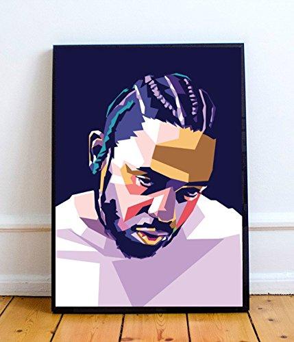 The Den Kendrick Lamar Limited Poster Artwork – Professional Wall Art Merchandise (More (8×10)