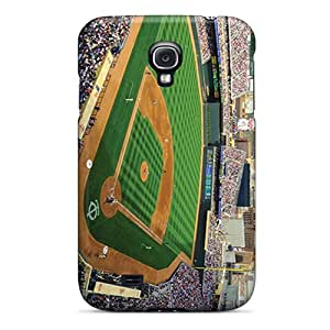 Galaxy S4 Case Cover With Shock Absorbent Protective LVl4265ObLm Case