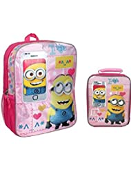 Despicable Me Minions Movie 16 Backpack & Lunch Box Set - Call Me Maybe