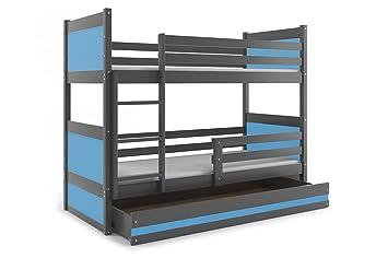 Etagenbett Rico : Interbeds etagenbett rico cm farbe grau mit latternoste