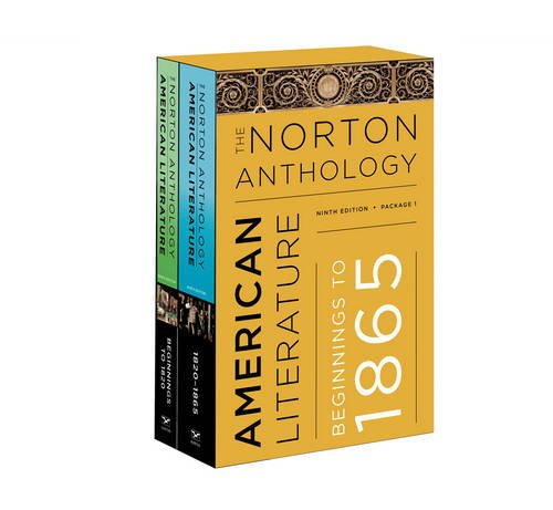 The Norton Anthology of American Literature (Ninth Edition)  (Vol. Package 1: Volumes A and B) by W. W. Norton & Company