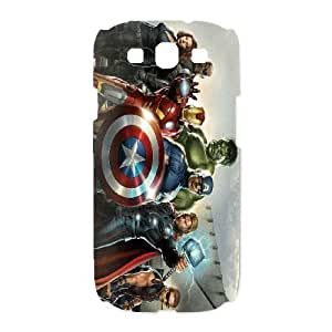 Samsung Galaxy S3 I9300 Phone Case White Avengers VGS6015538