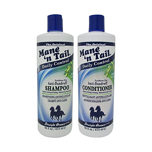 Mane N Tail Ingredients - Mane'n Tail Pyrithione Zinc Anti-Dandruff Shampoo and Conditioner 16 oz