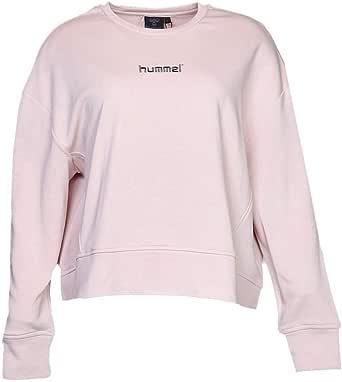 hummel Pullover Tops for Women, Color Light Pink - Size S
