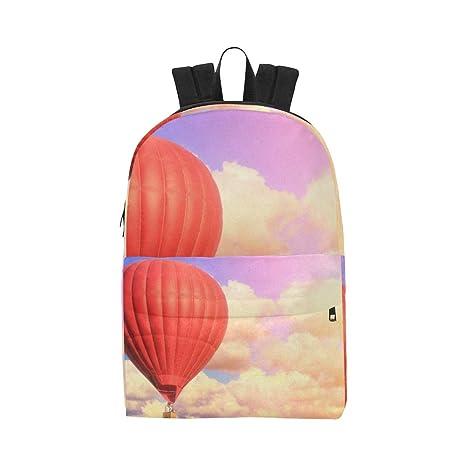 Colorful Sky Hot Air Ballon Classic Cute Waterproof Laptop ...