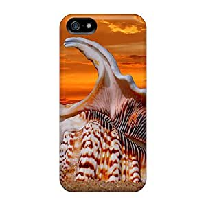 Case Cover Protector For Iphone 5/5s Beautiful Seashell Case