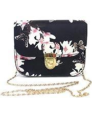 Wultia - Bags New Hot Sale Women Butterfly Flower Printing Handbag Shoulder Bag Tote Messenger Bag Hight Quality #T08