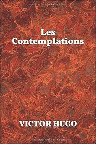 Les Contemplations Amazones Victor Hugo Libros En