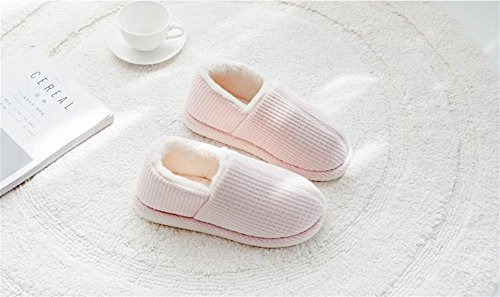 Foderate Pelliccia Invernali Di Caldo Pantofole Donna Scarpe 002 Zhang2 eu39 Eu Unisex 38 on Slip Impermeabili adulto Uomo qHUOwxP