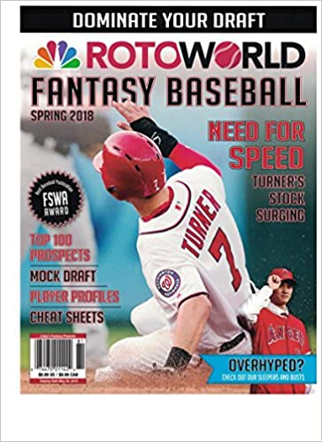 227a9f6f1418 Rotoworld fantasy baseball  lindys  0074470011422  Amazon.com  Books