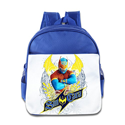 [XJBD Custom Cute Cartoon Muscle Men Children School Bagpack Bag For 1-6 Years Old RoyalBlue] (1 Yr Old Halloween Costume)