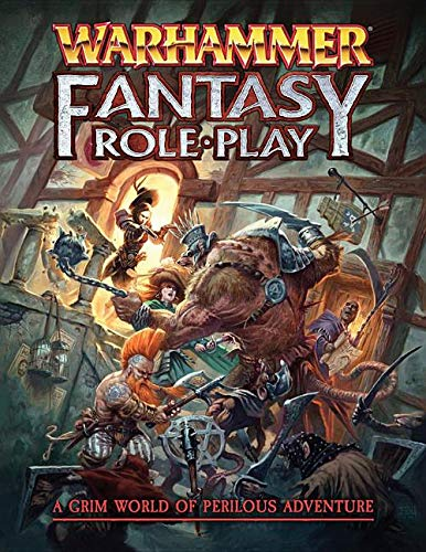 Book cover from Warhammer Fantasy Roleplay 4e Core by Games Workshop