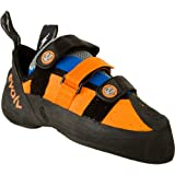 evolv Men's Shaman Climbing Shoe,Orange/Blue,6.5 M US, Outdoor Stuffs
