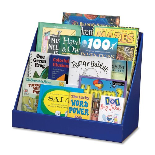[Pacon Classroom Keepers Book Shelf, Blue (001329)] (Magazine Display Finish)