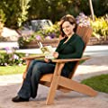 Lifetime Products Recycled Plastic Adirondack Chair 60064 by Lifetime Products