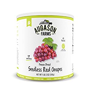 Farms Freeze Dried Seedless Red Grapes