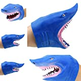 Bonkkara Shark Spoof Hand Puppet Baby Infant Kid Toy Plush Toys Silica Gel Animals