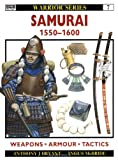 Samurai 1550-1600, Anthony Bryant, 1855323451