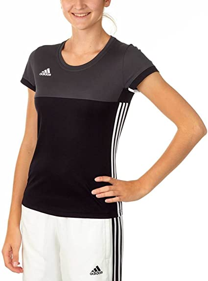 Adidas T16 ClimaCool T-Shirt Damen AJ5439, Schwarz-Grau ...