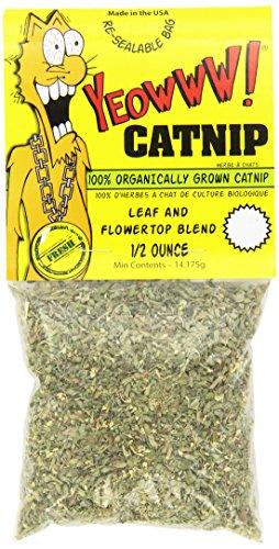 Ducky World Yeowww Catnip - Yeowww! Catnip Bags, 1/2-Ounce
