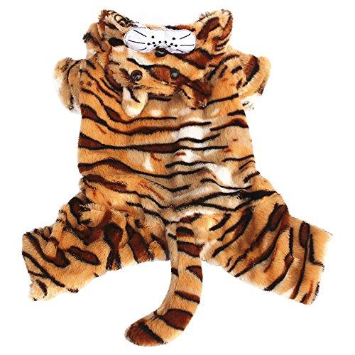 Eastlion Lovely Cosplay Tiger Warm Pet Dog Coats