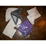 3 Pack New Rectangle Microfiber Pad for Shark Pocket Steam Mop S3550 S3501 S3601 S3901