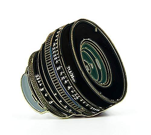 Film Pin Society 35mm F/1.5 Lens Enamel Pin