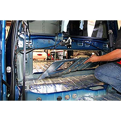FatMat Self-Adhesive Rattletrap Sound Deadener Pack with Install Kit - 125 Sq Ft x 80 mil Thick: Automotive