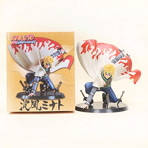 Naruto Shippuden Namikaze Minato PVC Action Figure Collectible Model Toy 15cm