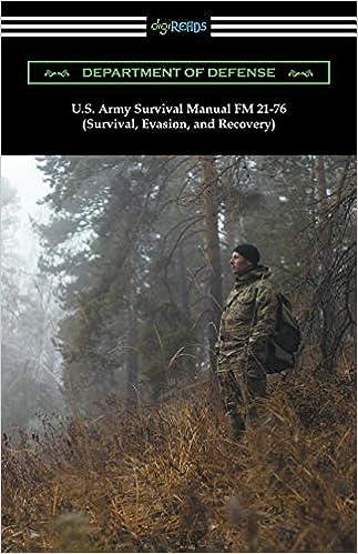 U. S. Army survival manual fm 21-76 (survival, evasion, and.