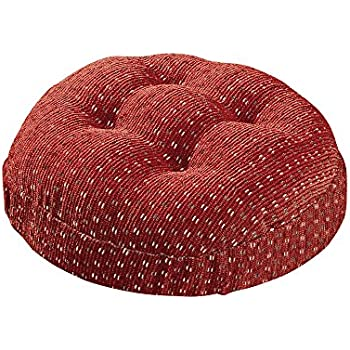 Amazon Com Twillo Bar Stool Seat Cushion Tufted Round