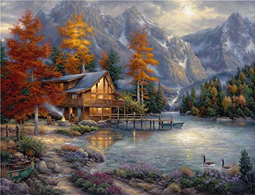 Neron Art Canvas Art Print Landscapes Unmounted – 120X90 c