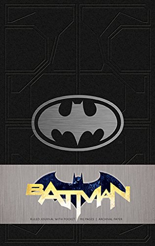 Batman Hardcover Ruled Journal (Insights Journals)