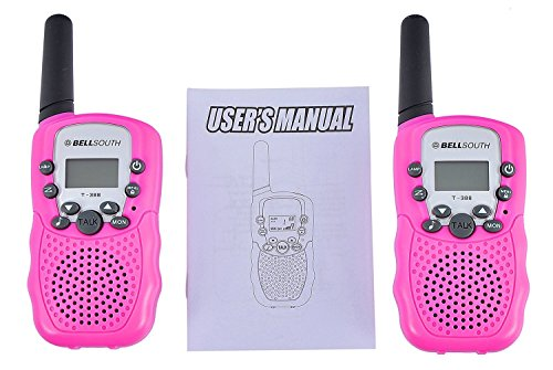 BELLSOUTH T388 2 Piece T-388 3-5KM 22 FRS and GMRS UHF Radio for Child Walkie-Talkie by BellSouth (Image #5)