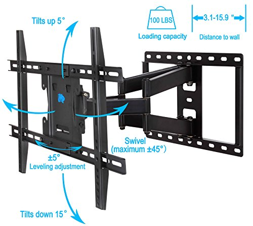 mounting dream md2296 tv wall mount bracket for most 42 70 import it all. Black Bedroom Furniture Sets. Home Design Ideas